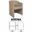 Kursi Hadap Chairman Type Arena