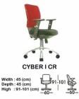 Kursi Staff & Sekretaris Indachi Cyber I CR