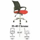 Kursi Staff & Sekretaris Subaru Type IS-40 Chrome