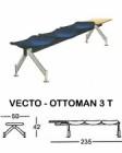Kursi Tunggu Indachi Type Vecto-Ottoman 3 T