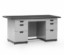Single Pedestal Desk Alba Type DP-402-L (1 Biro)