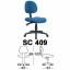Kursi Sekretaris Chairman Type SC 409
