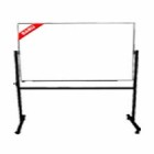 Papan Tulis (Whiteboard) Stand Single Face Sanko 90 x 180 cm