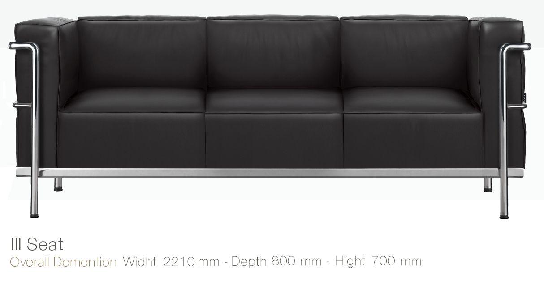Sofa Kantor Inviti Busier III Seat