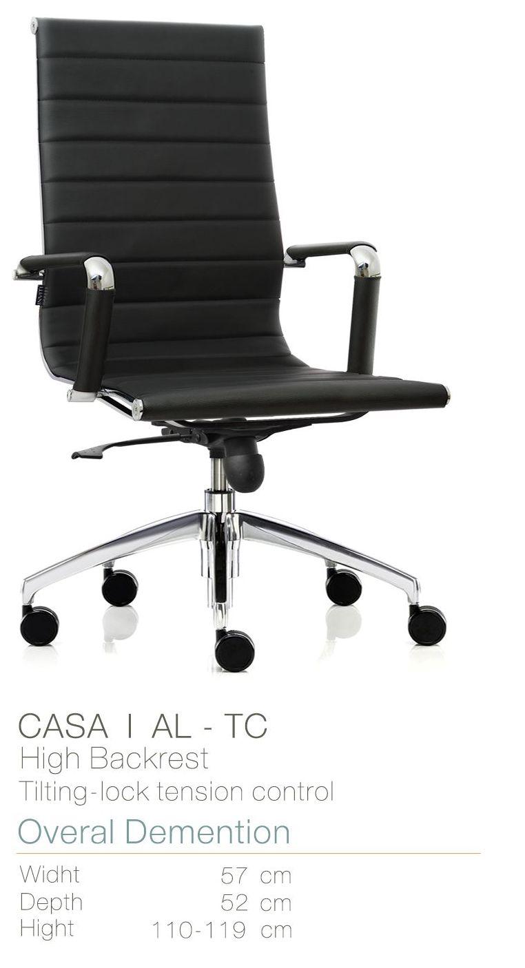 Kursi Kantor Inviti Casa 1 AL - TC